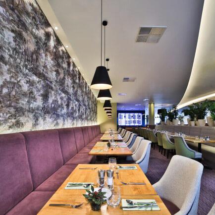 osvetleni restaurace